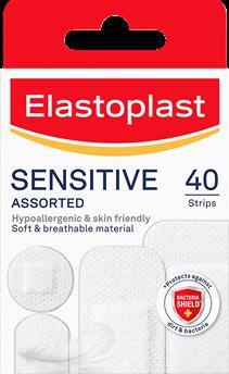 Elastoplast Sensitive Assorted 40 Pack