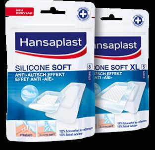 Pansement Silicone Soft pour la peau sensible | Hansaplast