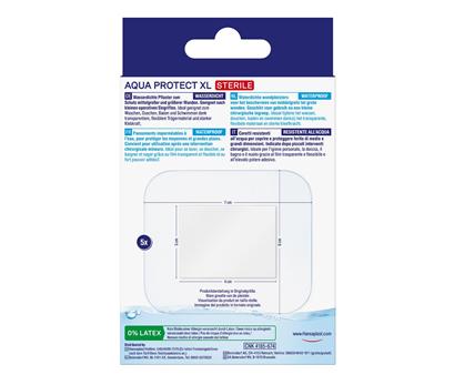 Hansaplast Aqua Protect XL Pflaster Rückseite