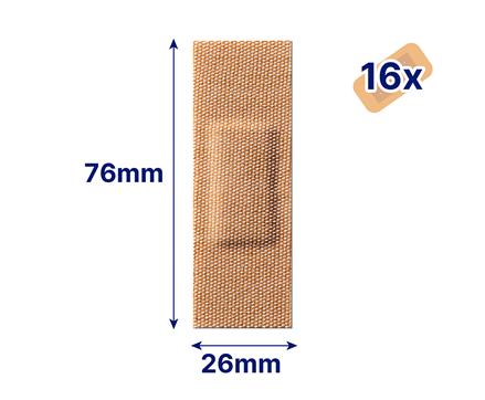 Hansaplast Robust Waterproof Pflaster Maße