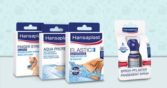 Hansaplast Produkte, die in jede Küche gehören