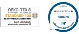 Kniebandage mit Oeko-Tex Standard 100 Siegel