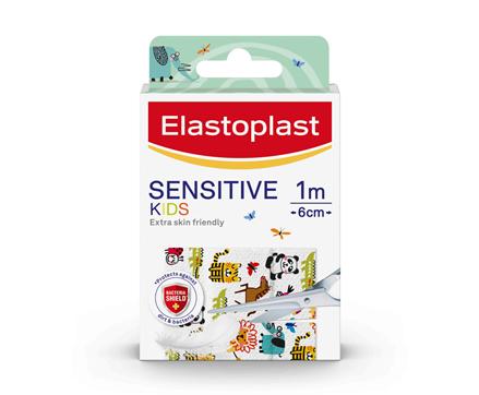 packshot of Elastoplast Kids Sensitive Plaster Dressing