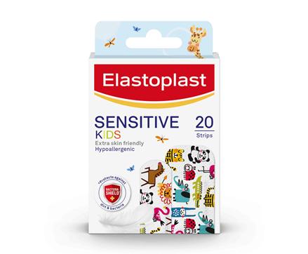 Elastoplast Kids Sensitive Plasters 20 Strips