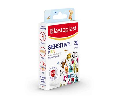 Elastoplast Kids Sensitive Plasters Strips side