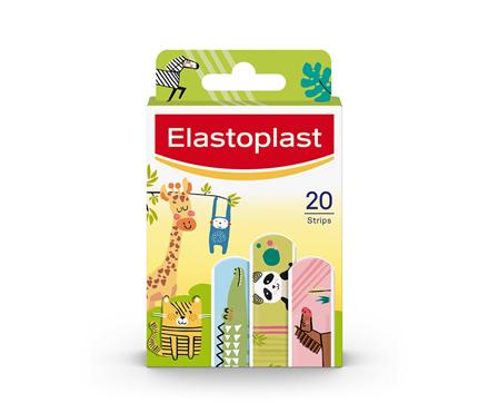 Packshot of Elastoplast Kids Animal plasters