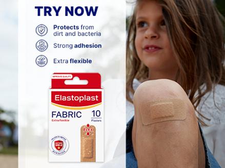 Fabric 10 plasters key benefits