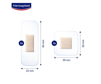 Hansaplast Aqua Protect 6s Size