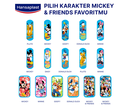 Hansaplast Disney Mickey and Friends Strips