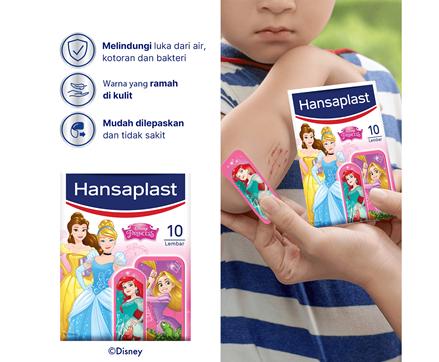 Hansaplast Disney Princess Benefits