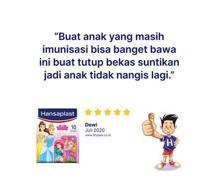 Hansaplast Disney Princess Review