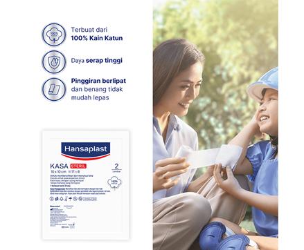 Hansaplast Kasa Steril 10cm Benefits