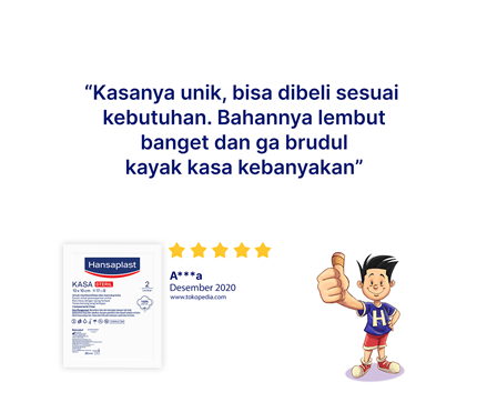 Hansaplast Kasa Steril 10cm Review