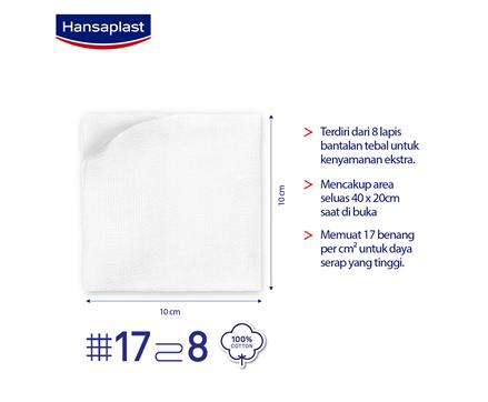 Hansaplast Kasa Steril 10cm Size