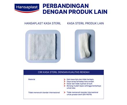 Hansaplast Kasa Steril 7,5cm