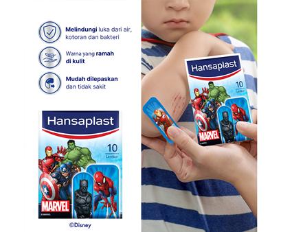 Hansaplast Marvel Avenger Benefits