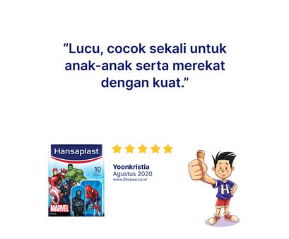 Hansaplast Marvel Avenger Review
