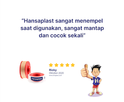 Hansaplast Rol Kain 1,25 x 5 review