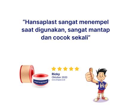 Hansaplast Rol Kain 2,5 x 4,5 Review