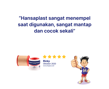 Hansaplast Rol Kain 25x1 Review