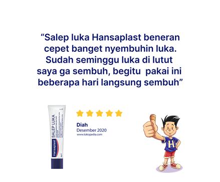 Hansaplast Salep Luka 20g Review