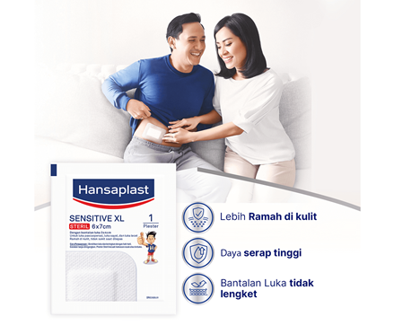 Hansaplast Sensitive XL Benefits