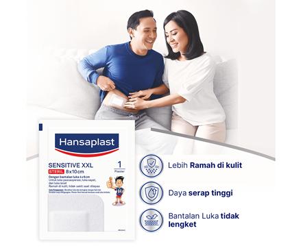 Hansaplast Sensitive XXL Benefits