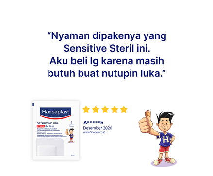Hansaplast Sensitive XXL Review