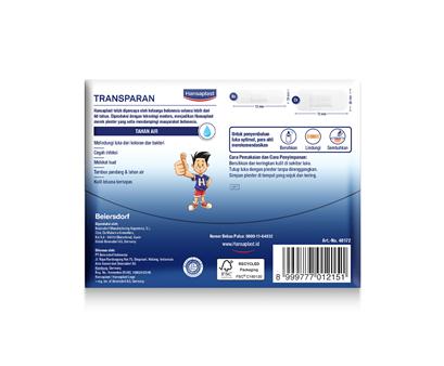 Hansaplast Transparan Back Cover