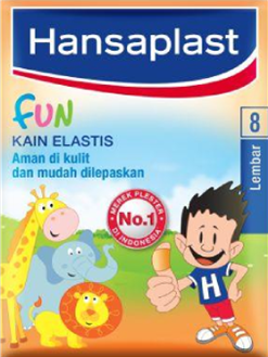 Hansaplast Kain Elastis Fun