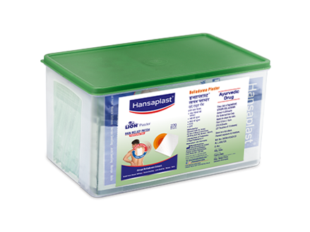 Belladonna Plaster Large Box | Hansplast India