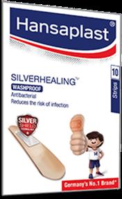 Silver healing Wash proof Wound Plaster | Hansaplast