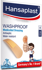 Anti-Septic Water Resistant Wound Plaster Set| Hansaplast