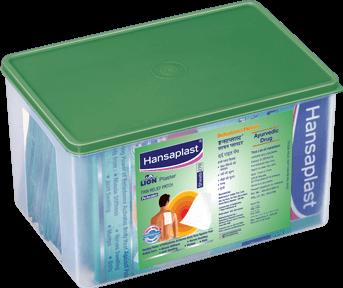 Lion Plaster: Belladonna Heat Plasters | Heat plaster for back and muscle pain | Hansaplast India