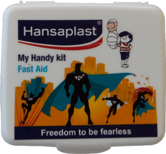 First Aid Kit Box: My Handy Kit - 2| Pocket-size, travel friendly first aid box | Hansaplast India