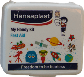 First Aid Kit Box: My Handy Kit - 3| Pocket-size, travel friendly first aid box | Hansaplast India