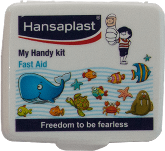 First Aid Kit Box: My Handy Kit - 4| Pocket-size, travel friendly first aid box | Hansaplast India