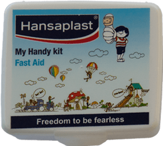 First Aid Kit Box: My Handy Kit - 5| Pocket-size, travel friendly first aid box | Hansaplast India