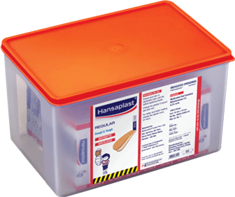 Regular Wound Plasters Big Box   Antiseptic plaster to protect from dirt and bacteria   Hansaplast India