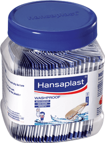 Wash Proof Anti-Septic Plaster for Everyday Wound Set 2 | Hansaplast India