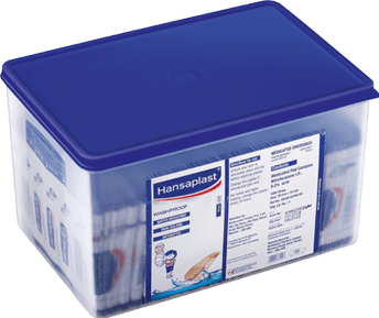 Wash Proof Anti-Septic Plaster Box for Everyday Wound | Hansaplast India