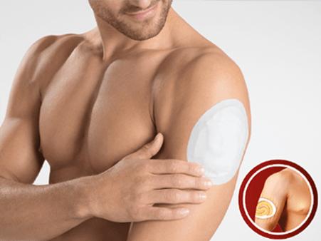 Spiral heat multipurpose 12h biceps - Hansaplast
